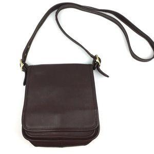 Coach 9145 crossbody flap purse legacy Vtg leather
